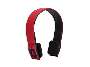 Connectland CL-AUD23030 Universal Wireless Bluetooth V4.0 + EDR norm Sport Band Headphone, Red