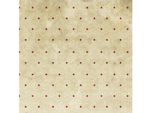 "Classic Collection 43"" Wide 100% Cotton 5yd D/R-Small Dot - Red"