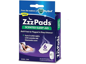 ZzzPads Scented Sleep-Aid Refill Pads for Plugged In Sleep Enhancer, 6 Pads Each Box (6 Boxes)