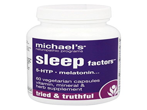 Michaels Naturopathic Programs - Sleep Factors - 60 Vegetarian Capsules