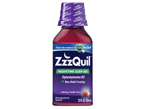 Zzzquil Calming Sleeping, Vanilla Cherry, 12 Fluid Ounce