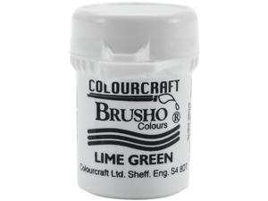 Brusho Crystal Colour 15g-Lime Green
