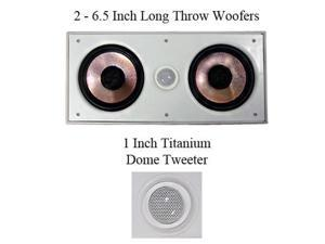 "Pyle Pro PDIWCS62 6.5"" 360 Watt In-Wall Center Speaker"