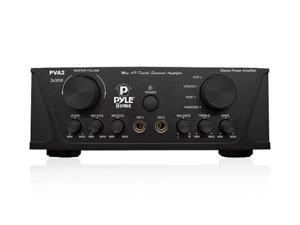 New PYLE PVA2 60 Watt Mini Home Stereo Power Amplifier