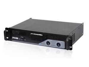 New PYRAMID ZPA100 1000W 2 Channel DJ Power Amplifier