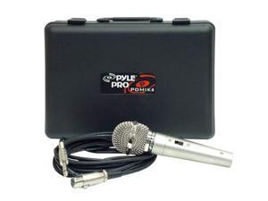 New PYLE PRO PDMIK4 Dynamic Audio Microphone w/Case NR
