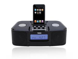 New Naxa NI-3103B Black iPod Dock Docking Station Radio
