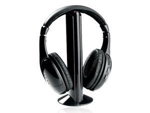 New NAXA NX-922A 5-in-1 Wireless Stereo Headphones NR