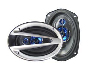 "New 1200W Pair of 6x9"" Car Audio Coaxial Stereo Speakers 1200 Watt 3-Way 6 x 9"""