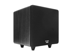 "Acoustic Audio Cinema CS-PS15-B Black 600W 15"" Powered Home Theater Subwoofer"