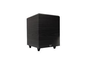"Acoustic Audio RWSUB8 Black 300 Watt 8"" Powered/Active Home Theater Subwoofer"