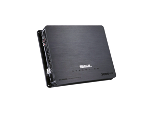 SoundStorm EV3000D 1-Channel 3000 Watt Mono Block MOSFET Car Subwoofer Amplifier