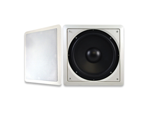 "Acoustic Audio IWS10 200 Watt 10"" In-Wall/Ceiling Home Theater Passive Subwoofer"