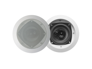 "Acoustic Audio CS-IC43 Pair 200W 4"" 3-Way Home Theater In-Wall/Ceiling Speakers"