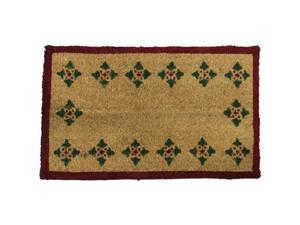 """Bordeaux Decorative Coco Doormat - 18"""" x 30"""" Outdoor Home Door Mat - OEM"""