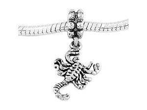 Sterling Silver Scorpion Dangle Bead Charm
