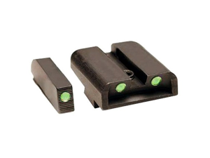 Truglo TFO Tritium Fiber Optic Green Gun Sights Glock High TG131GT2