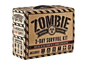 Every Day Carry 11-0021 Zombie 3 Day Survival / Disaster Preparedness Kit - 5 Year Storage