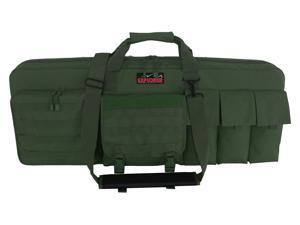 "Every Day Carry 42"" Triple Rifle Soft Case w/Detachable Sniper Mat Olive Drab OD"