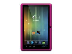 "Ematic 7"" Android 4.2 Capacitive 8GB Wifi Tablet Kindle Books EGM003 - Pink"