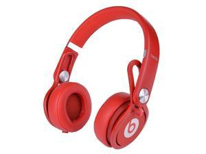 Beats by Dre Mixr High Definition Stereo Headphones w/Inline Remote & Mic - Red