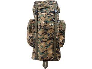 Every Day Carry Heavy Duty XL Mountaineer Hiking Day Pack Backpack -Digital Camo