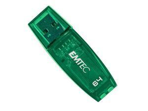 Emtec C400 Clear Green 64GB USB 2.0 Candy Series Flash Drive
