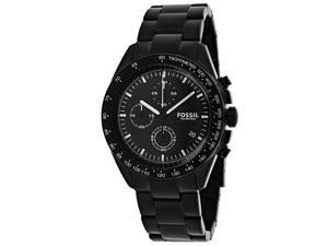 Fossil Men's Sport 54 Watch Quartz Mineral Crystal CH3028
