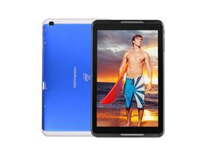 "Nuvision 8"" Atom Z3735G Quad-Core 1.33GHz 1GB 32GB Android 4.4 Wi-Fi Tablet - Blue"