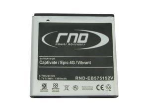 RND Li-Ion Battery (EB575152VA  EB575152VAB  EB575152VABSTD) for Samsung Epic 4G D700 (SPH-D700)  Captivate i897 (SGH-i897) ...