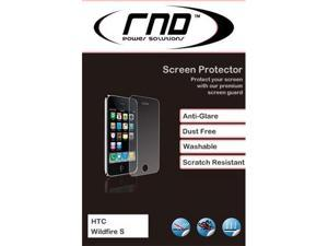 RND 3 Screen Protectors for HTC WildFile S (Anti-Fingerprint/Anti-Glare - Matte Finish) with lint cleaning clothes