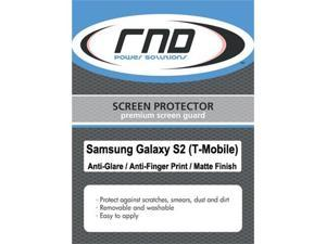 RND 3 Screen Protectors for Samsung Galaxy S II (T-Mobile version) (Anti-Fingerprint/Anti-Glare - Matte Finish) with lint ...