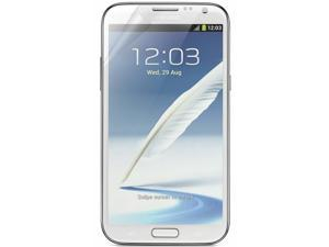 RND 3 Screen Protectors for Samsung Galaxy Note II (2) (Ultra Crystal Clear) with lint cleaning cloths
