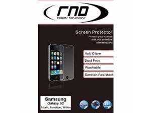RND 3 Screen Protectors for Samsung Galaxy S II (2) (International Version Only) (Anti-Fingerprint/Anti-Glare - Matte Finish) ...