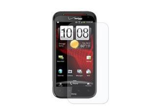 RND 3 Screen Protectors for HTC Rezound (Ultra Crystal Clear) with lint cleaning cloths