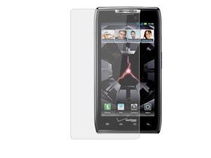 RND 3 Screen Protectors for Motorola Droid Razr / Razr Maxx (Ultra Crystal Clear) with lint cleaning cloths
