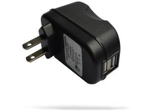RND 2.4A fast dual USB AC adapter wall charger for HTC Smartphones