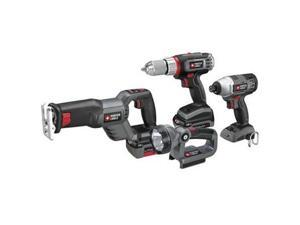 PCL418IDC-2 Tradesman 18V Cordless Lithium-Ion 4-Tool Combo Kit