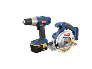 ZRP807 ONE Plus 18V Cordless Drill and Circular Saw Combo Kit