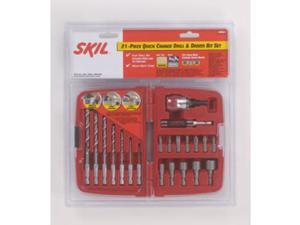 90921 21-Piece Quick Change Drill/Drive Bit Set