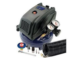 FP260000AV 1 Gallon Pancake Air Compressor with Inflation Kit