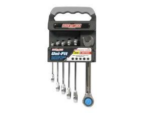 38036 6 Piece Uni-Fit Ratcheting Wrench Set