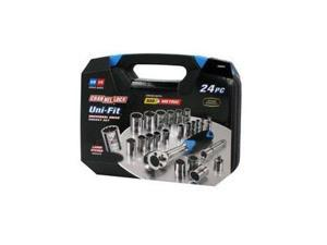 38054 24 Piece Uni-Fit Socket Set