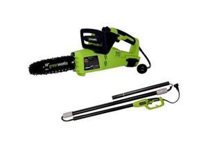 20062 7 Amp 10 in. 2-in-1 Electric Pole Saw