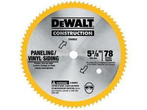 DW9053 5-3/8 in. 80 Tooth Circular Saw Blade