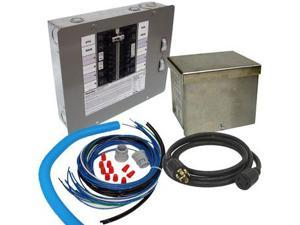 6295 30 Amp 120/240 Single Phase Manual Transfer Switch for Portable Generators Up to 8 kW