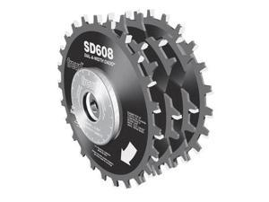 SD608 8 in. 24T Dial-A-Width Stack Dado Set