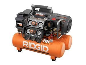 Ridgid ZROF50150TS 5 Gallon Oil-Free Portable Tri-Stack Air Compressor