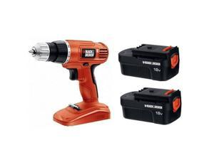 Black & Decker GCO18SB-2R 18V Cordless Drill Driver with Two Batteries