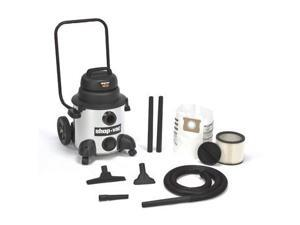 9712900 8 Gallon 4.0 Peak HP Stainless Steel Wet/Dry Vacuum